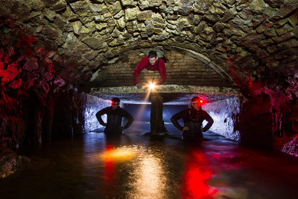 Il ponte canale del fiume Bova Credit: Pagina Facebook Brescia Underground