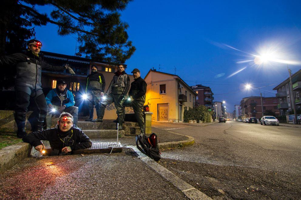 I banditi del XXI secolo Credit: Pagina Facebook Brescia Underground