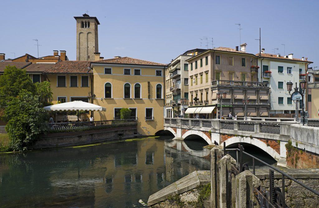 Il Sile a Treviso Credit: Wikipedia