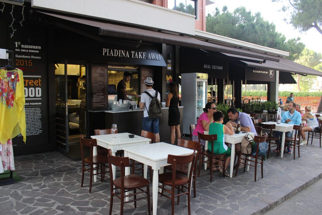 Kalamaro piadinaro Credit: Claudia Casadio