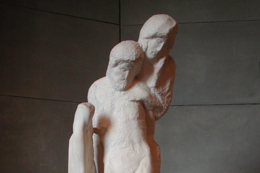 La Pietà Rondanini, Michelangelo