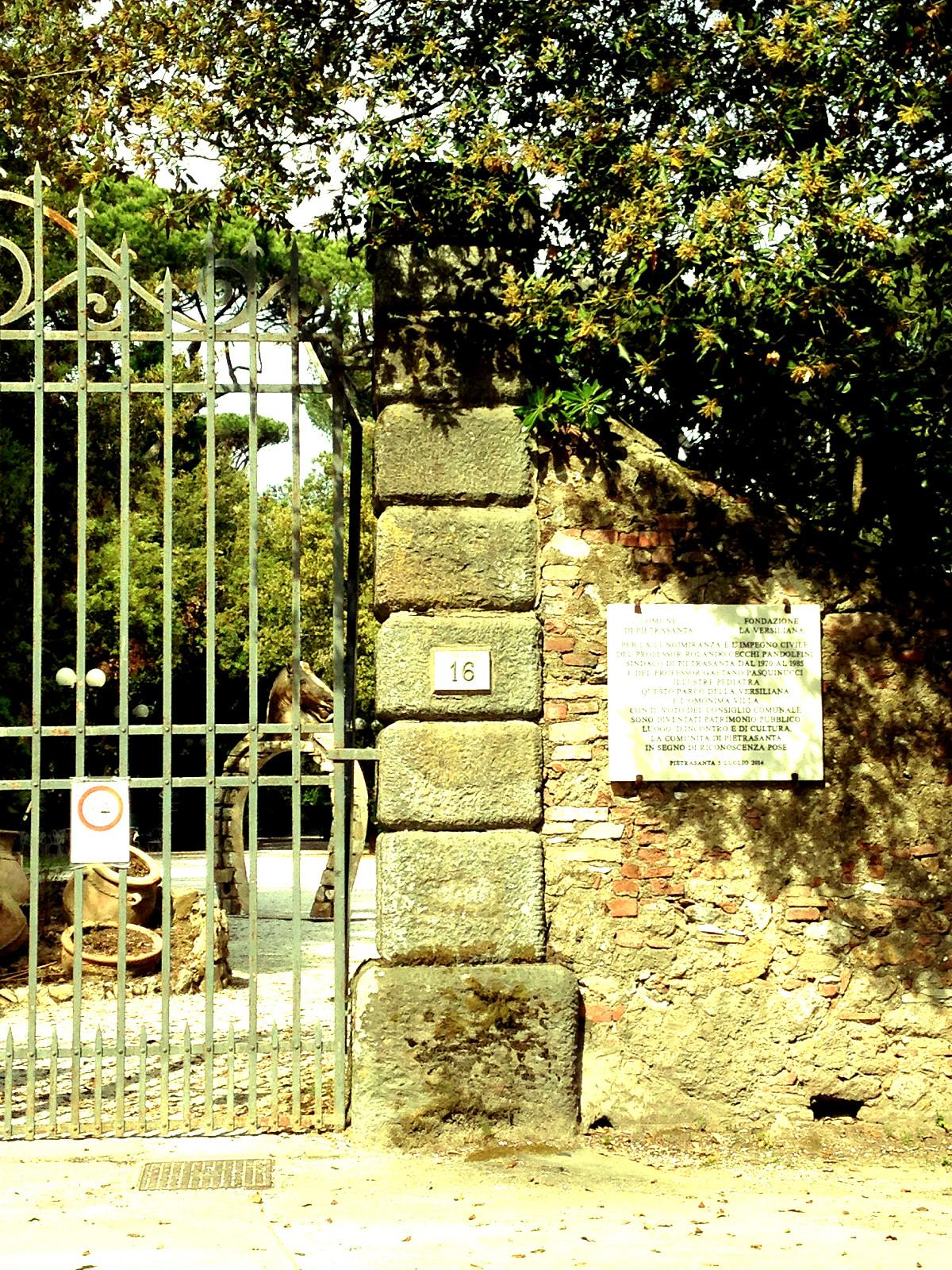 Il parco della Versiliana