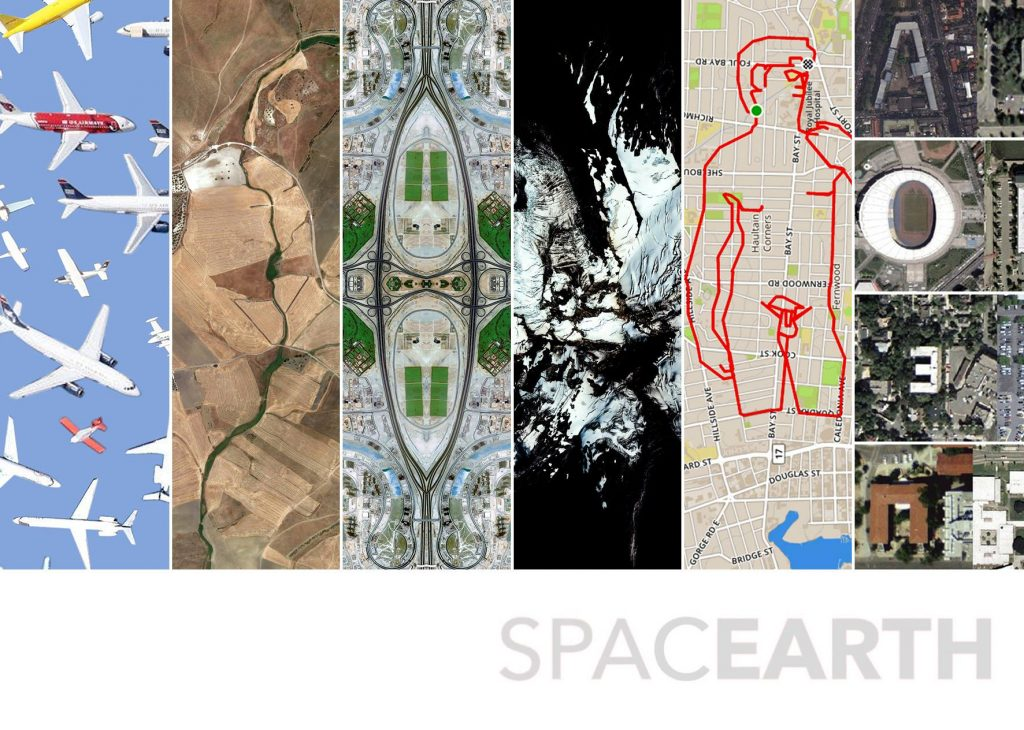 SPACEARTH - The Satellite Photography Terra, Arte e Nuovi Media