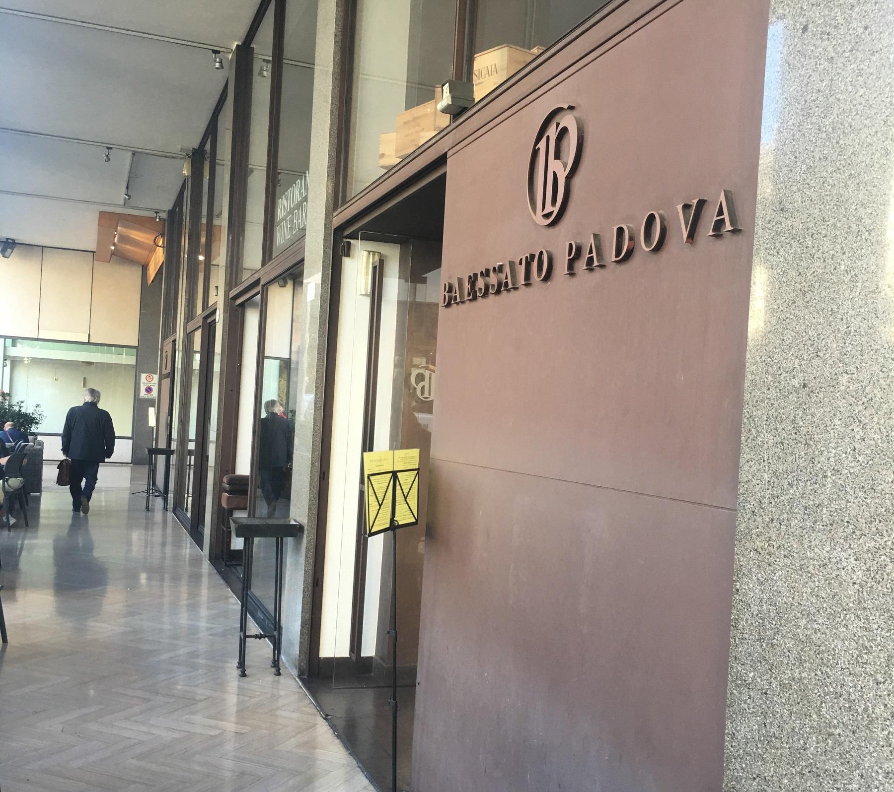 Baessato 3 colazione a Padova