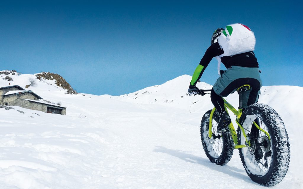 Fat Bike ad Artavaggio. Foto www.lakecomo.bike