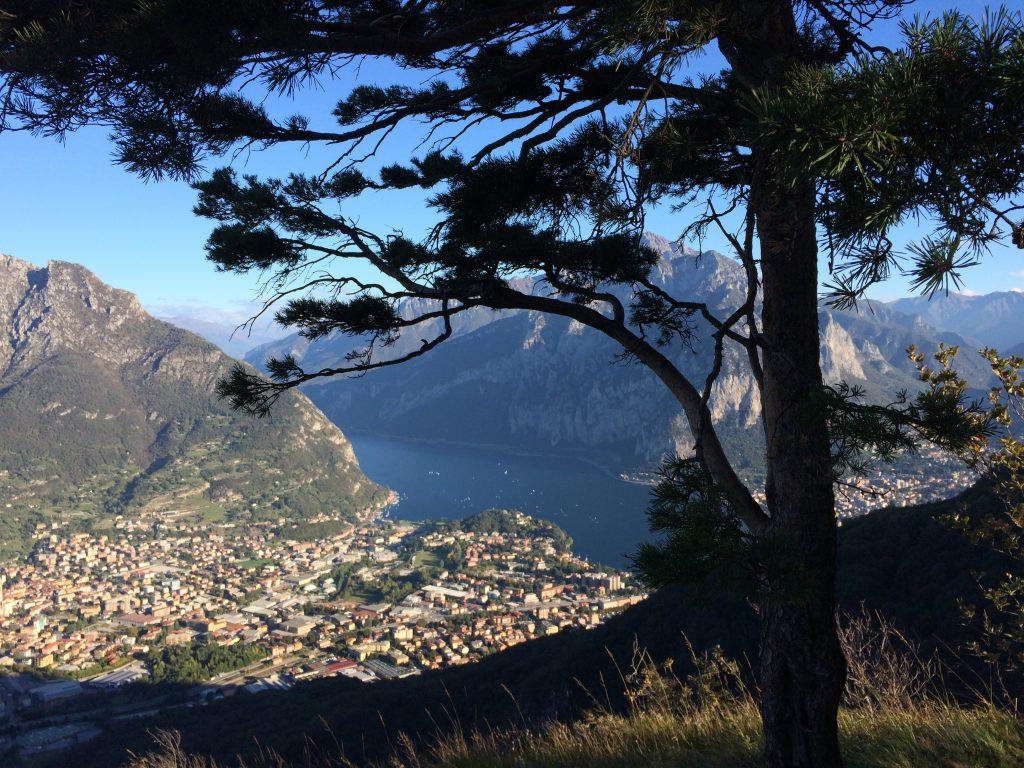 Il Parco Monte Barro è il posto ideale a Lecco per sgranchirsi le gambe, far ossigenare la mente e godersi una vista mozzafiato