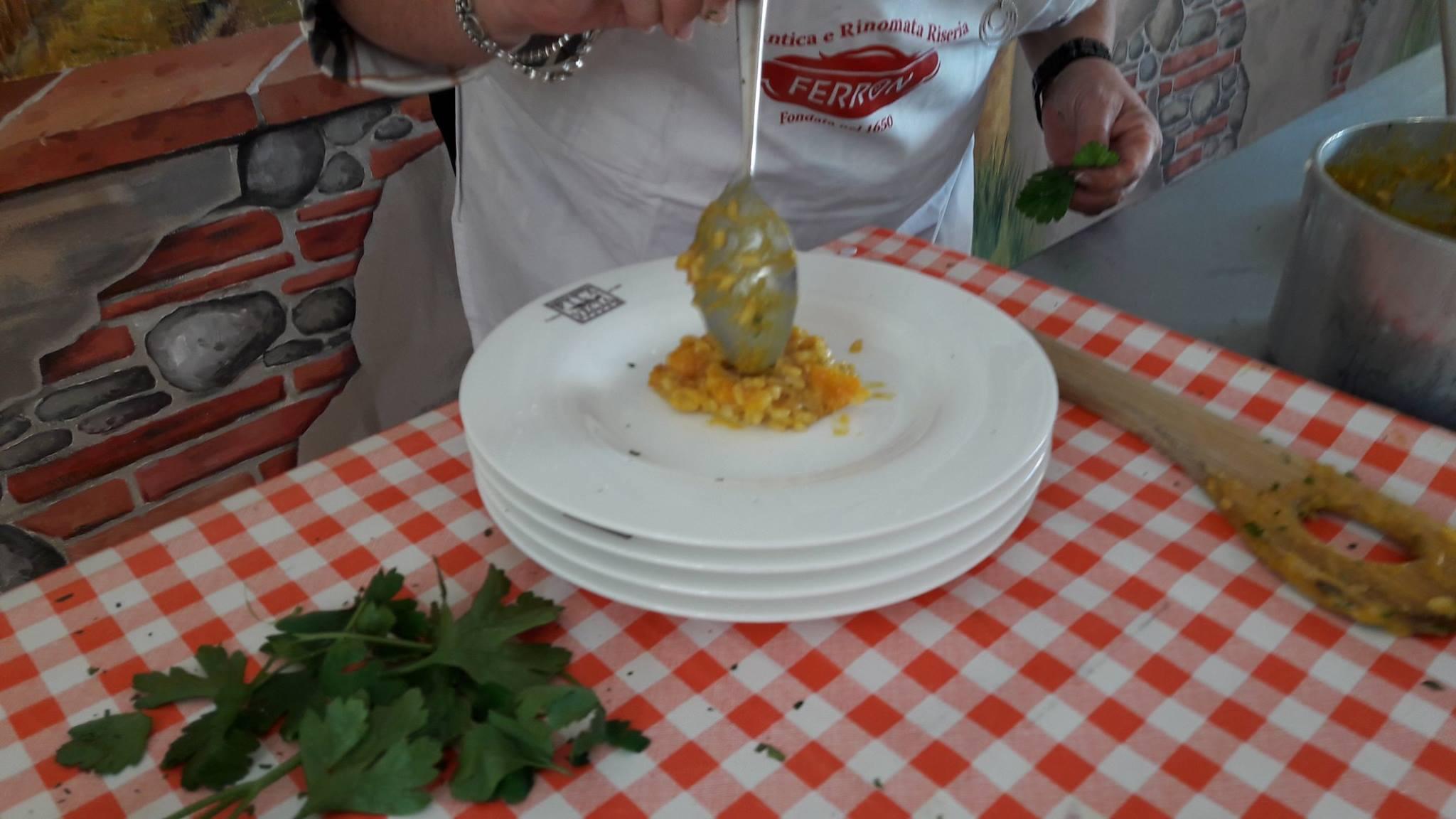 Risotto all'Amarone, agli agrumi, alla zucca e agli amaretti, all'isolana, insomma risotti per ogni gusto, tutti da provare a Verona