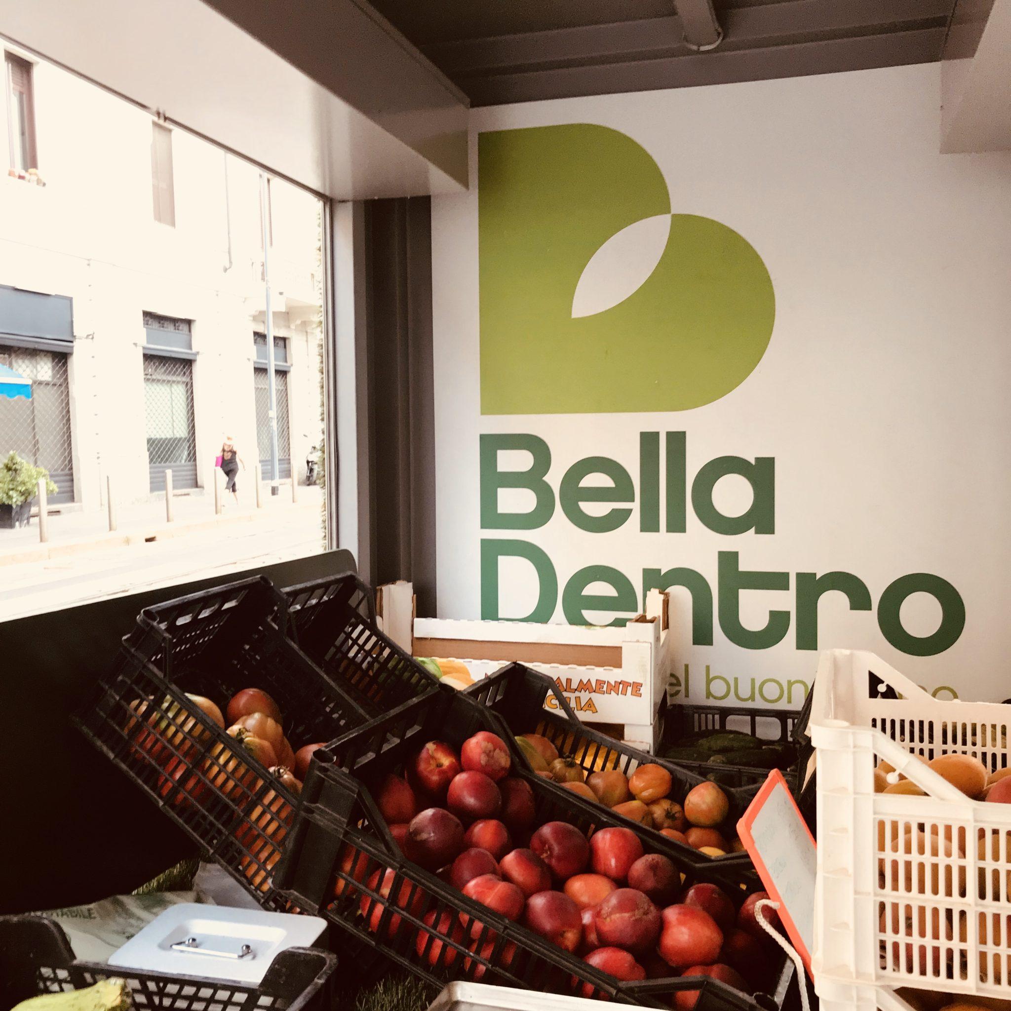 Bella Dentro, la frutta e la verdura brutta fuori ma buonissima da mangiare, gira on the road su un furgoncino. Il racconto di chi è alla guida delle idee