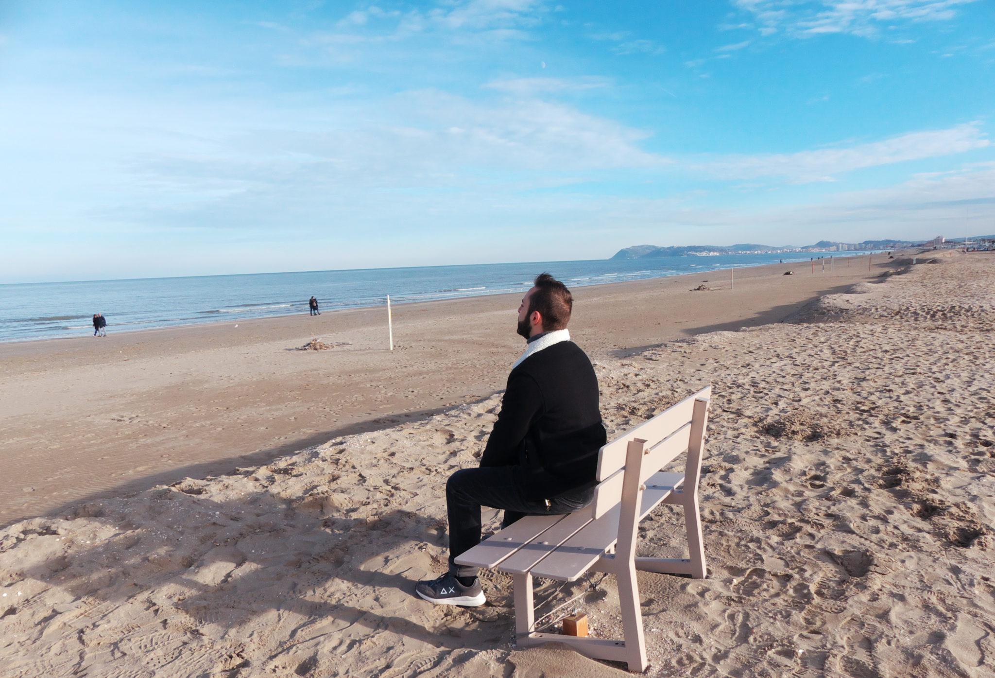 Matrimonio Spiaggia Inverno : La spiaggia del sole anche dinverno everydaylife