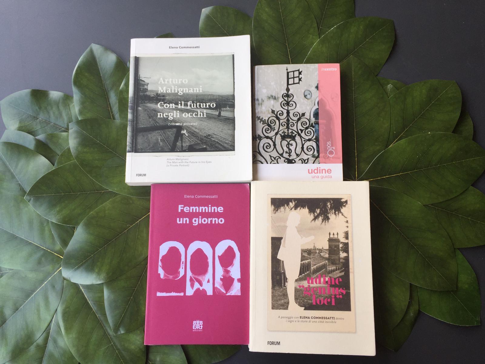 Scrittrice e giornalista, Elena Commessatti è autrice di diverse guide turistiche che raccontano itinerari e luoghi di un'altra Udine